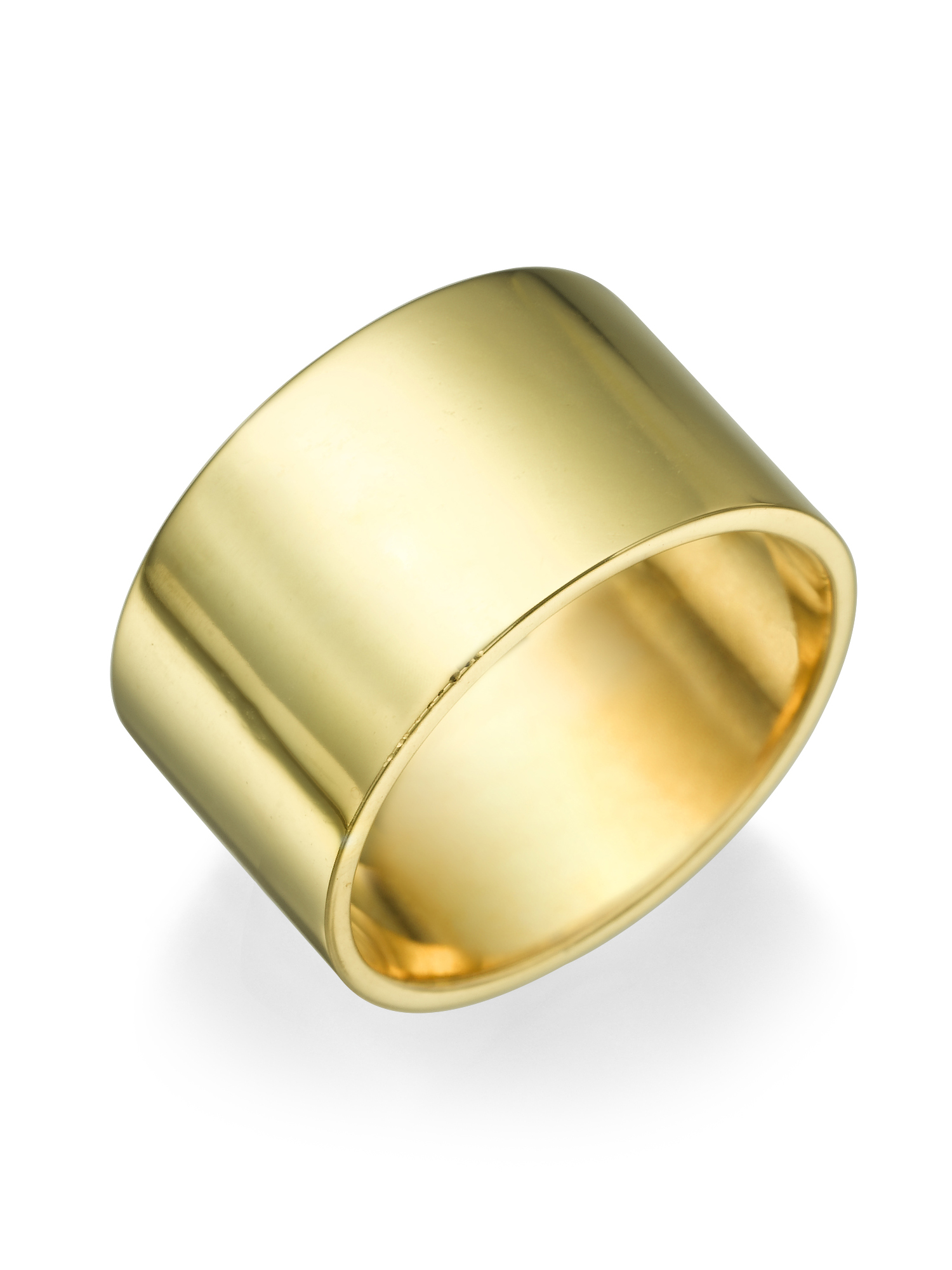 10 9mm flat s wedding band ring in solid 14k yellow